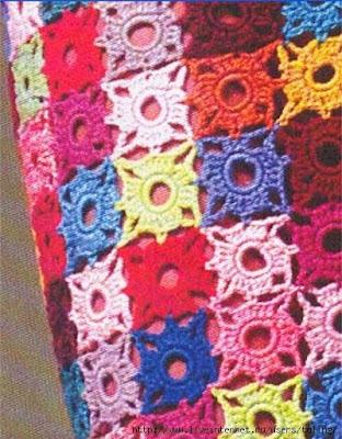 Patrones de faldas largas a crochet