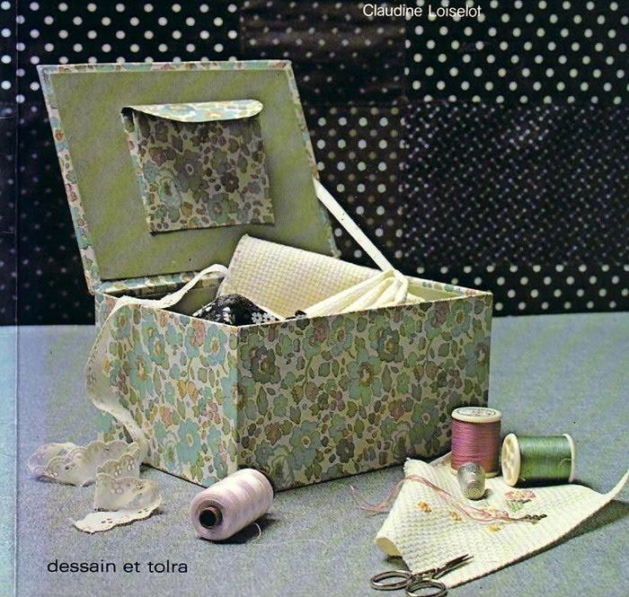 Bellas manualidades con cajas de zapatos - Como adornar una caja de zapatos ...