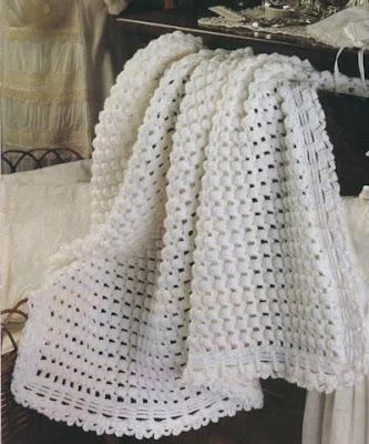 patrones de tejido para mantas de bebe