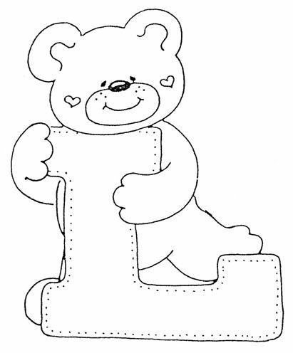Abecedario infantil para colorear y imprimir
