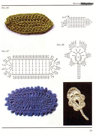 Flores para tejer a crochet
