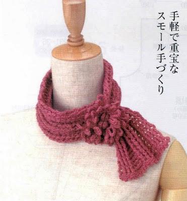 Bufandas a crochet. Patrones de bufandas. Bonitas bufandas tejidas