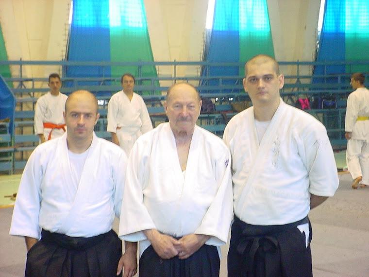 Piatra Neamț - împreună cu maestrul Daniel-Andre Brun și Sorin Despa