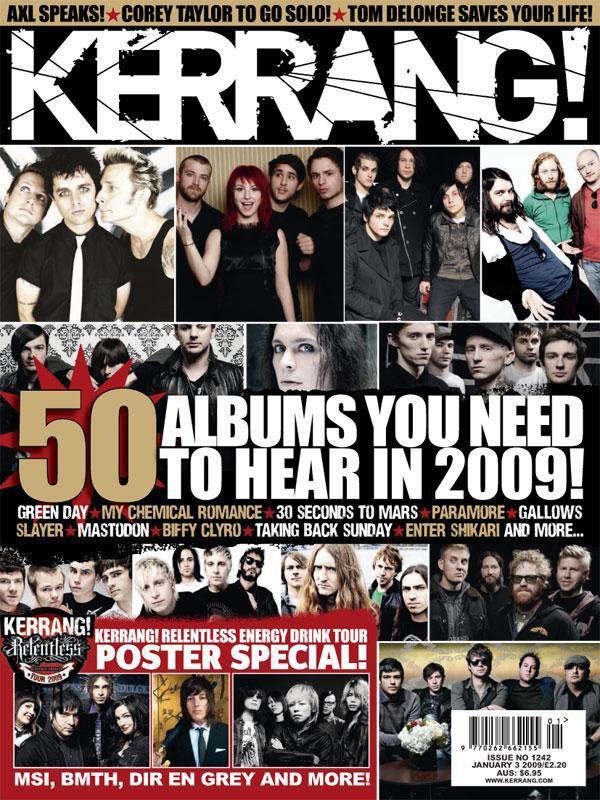 Kerrang! 50 albums you need to hear in 2009! Kerrang%2B%231242%2B1