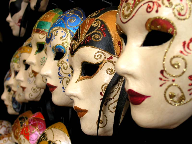 how to make venetian masks