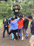 Juara Team Building di Guci Tegal
