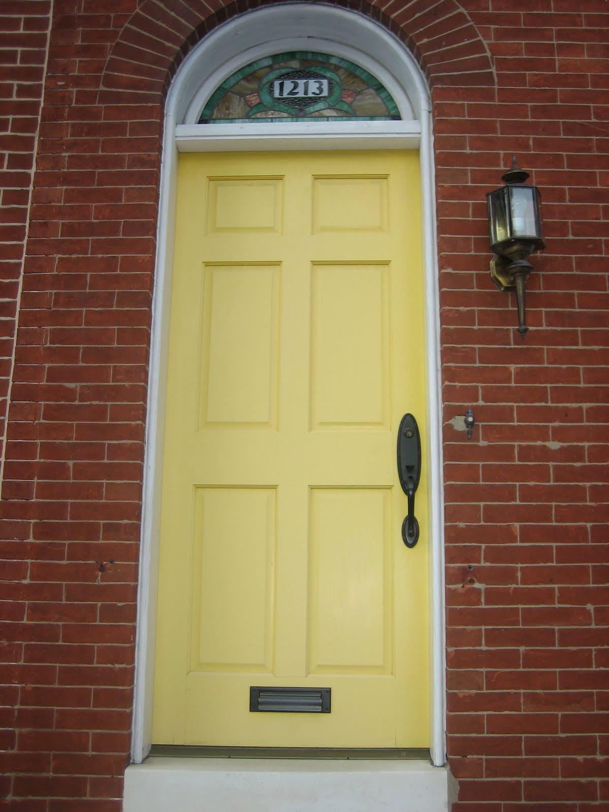 Elizabeth & Co.: Front Doors in Federal Hill