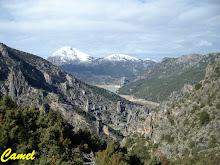 Vistas de la pandera y el quiebrajano