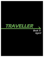 Cover of Mongoose Traveller Book 5: Agent - image pinched from the Mongoose website