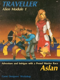 Cover of Classic Traveller Alien Module 1: Aslan by J. Andrew Keith, John Harshman and Marc W. Miller