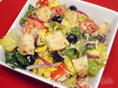Olive garden salad for Olive garden salad dressing ingredients