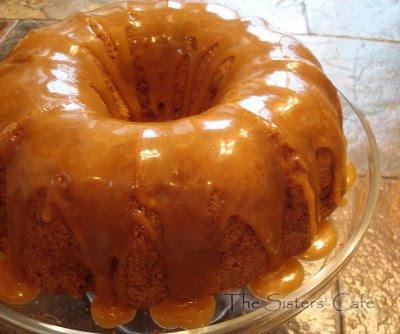 Apple Bundt Cake with Caramel Glaze | The Sisters Cafe