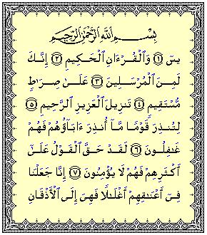 Bacalah Surah Yassin Untuk Diri Mu.