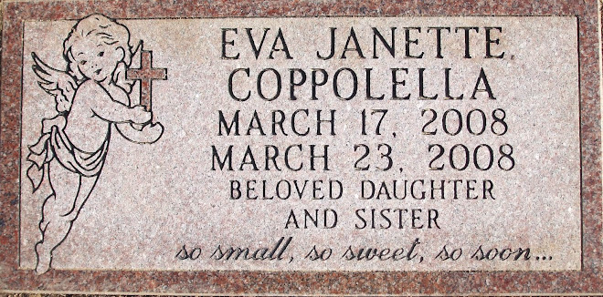 EVA = life; living one... JANETTE = God is Gracious...