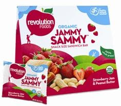 Revolution Foods Jammy Sammy