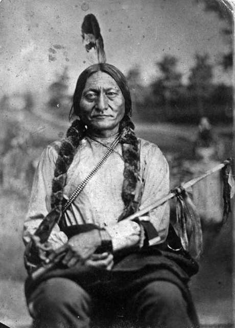 Grandfather smiles the great speech of sitting bull