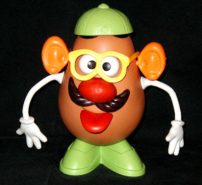 mr potato essay Give papers numbers each child to write who they think it is - the one who hits the most accurate wins mr potato head felt cutout for placing on easel.