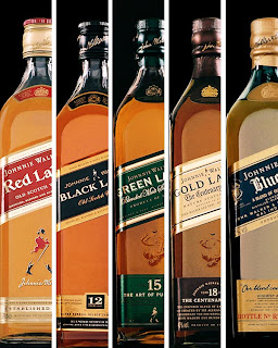 Botellas de Johnnie Walker