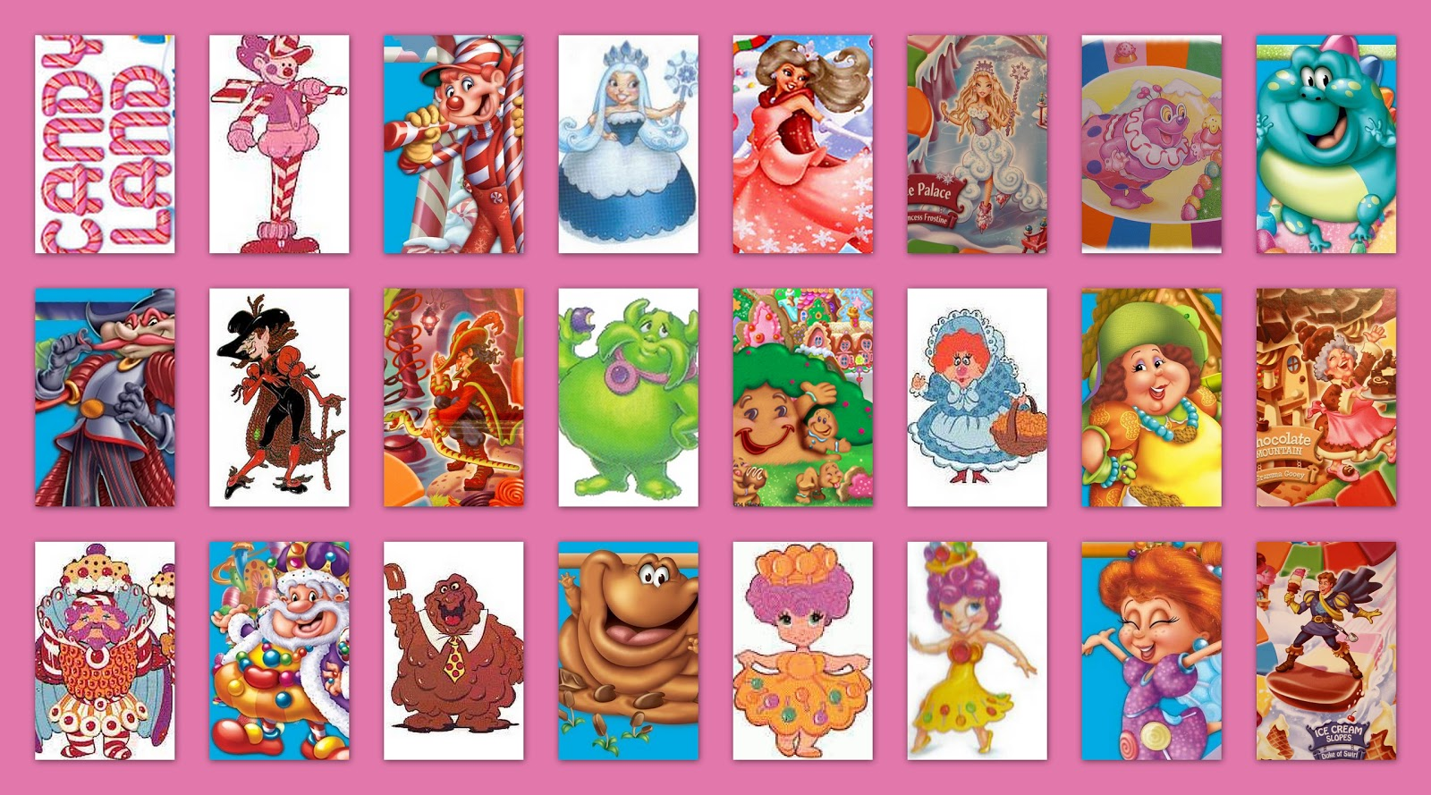 Printable candyland characters myideasbedroom com