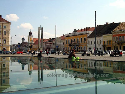 Old center of Cluj Napoca