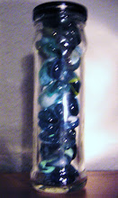 Blue Marble Jar