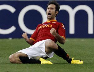 calcio, europa league, roma, vucinic, panathinaikos