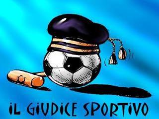 le squalifiche del giudice sportivo