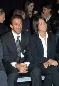 Del Piero e Sonia Amoruso