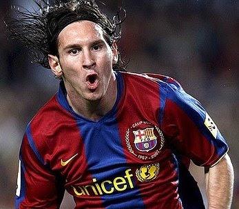 Messi, stella del Barcellona