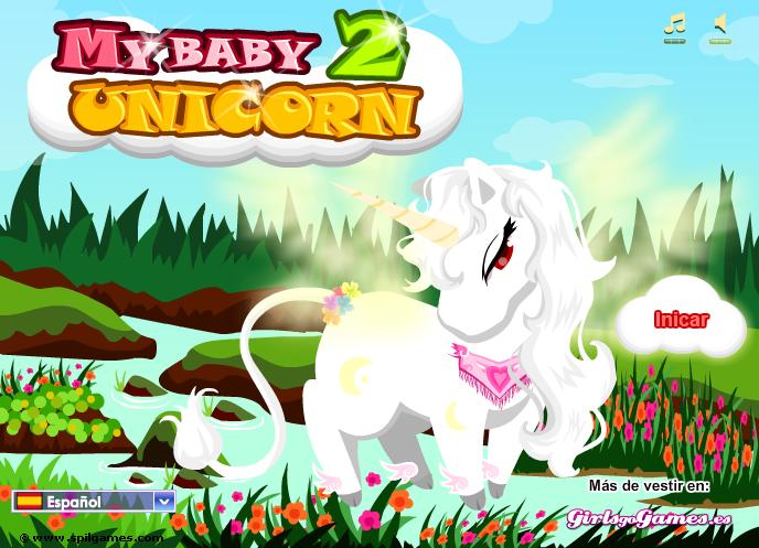 juegos de unicornios con alas para vestir