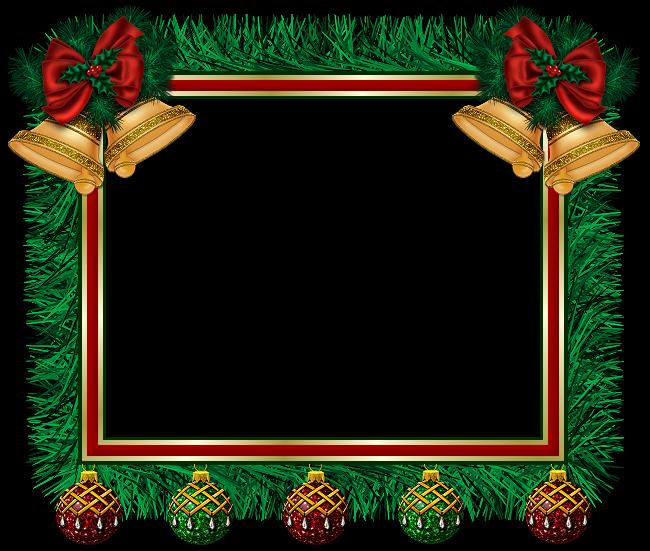 Barbara's Creation Freebies: Christmas Cluster Frame #1