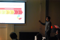 Siegert Dierickx presenting These Days continuous improvement process for Web Analytics