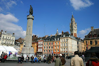 Lille and the place Rihour