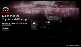 Explore Toyota European model line-up with Toyota Range Experience