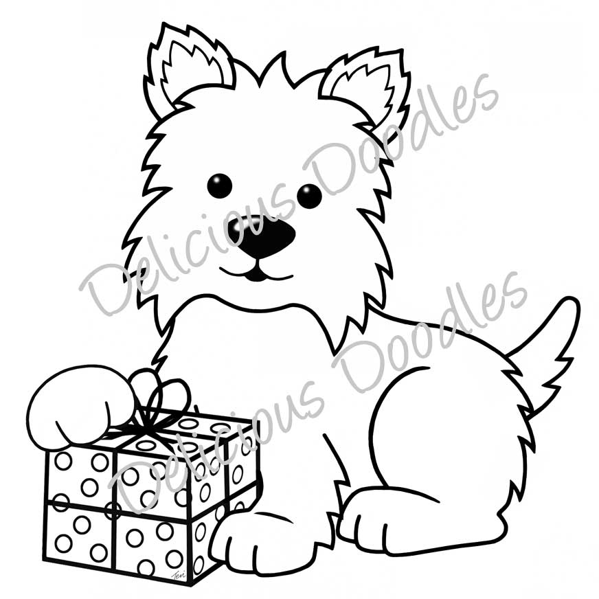 scottish terrier coloring pages - photo#16