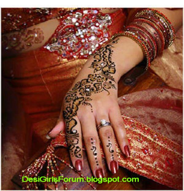 Mehndi Party Pictures : Mehandi designs bridel design arabic