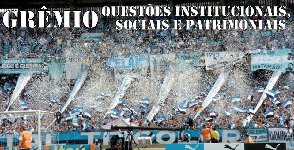 Grêmio - Questões Institucionais, Sociais e Patrimoniais