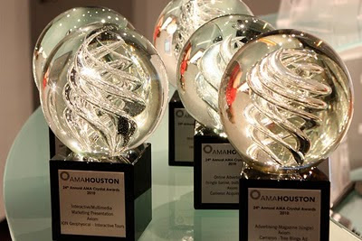 Axiom wins five Crystal Awards at the 2010 AMA Houston Crystal Awards