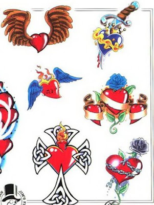 Heart Disease Ribbon Tattoos. disease ribbon tattoos,