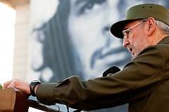 Fidel con los estudiantes