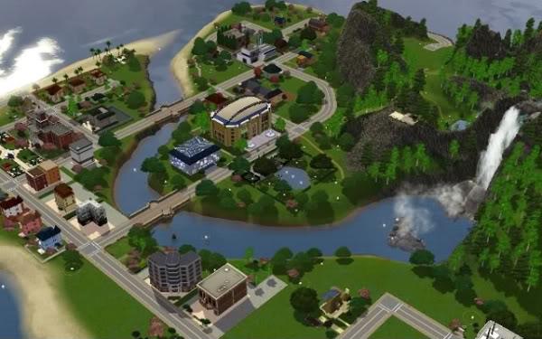 Sims Blank World Maps - Blank world map sims 3