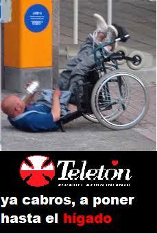 ¿Teletón? Saaaaaaaaaa.