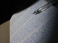 So I write.
