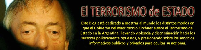 El Terrorismo de Estado.