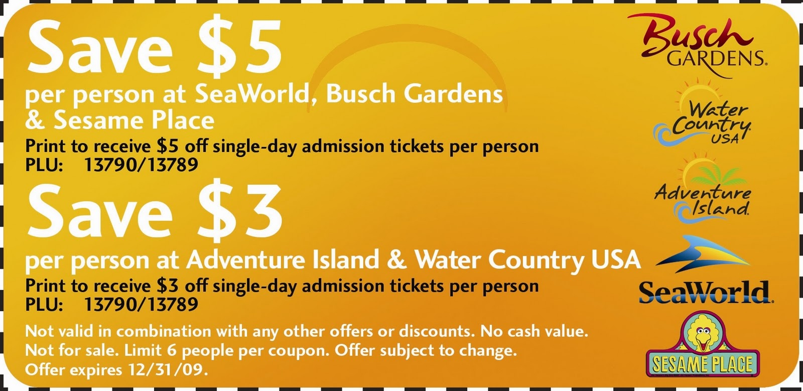 Adventure park discount coupons