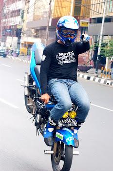 Senior freestyle : Aradea ( Dea ) - Bandung Stunt Riders ( KNC Bandung )