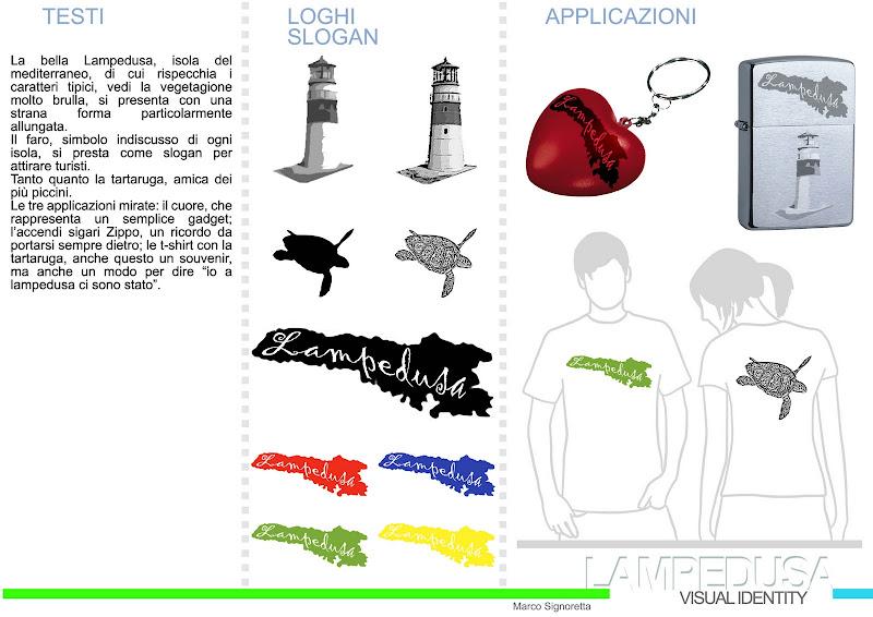 Tavola Workshop Lampedusa creazione del logo per sponsorizzazione dell  title=