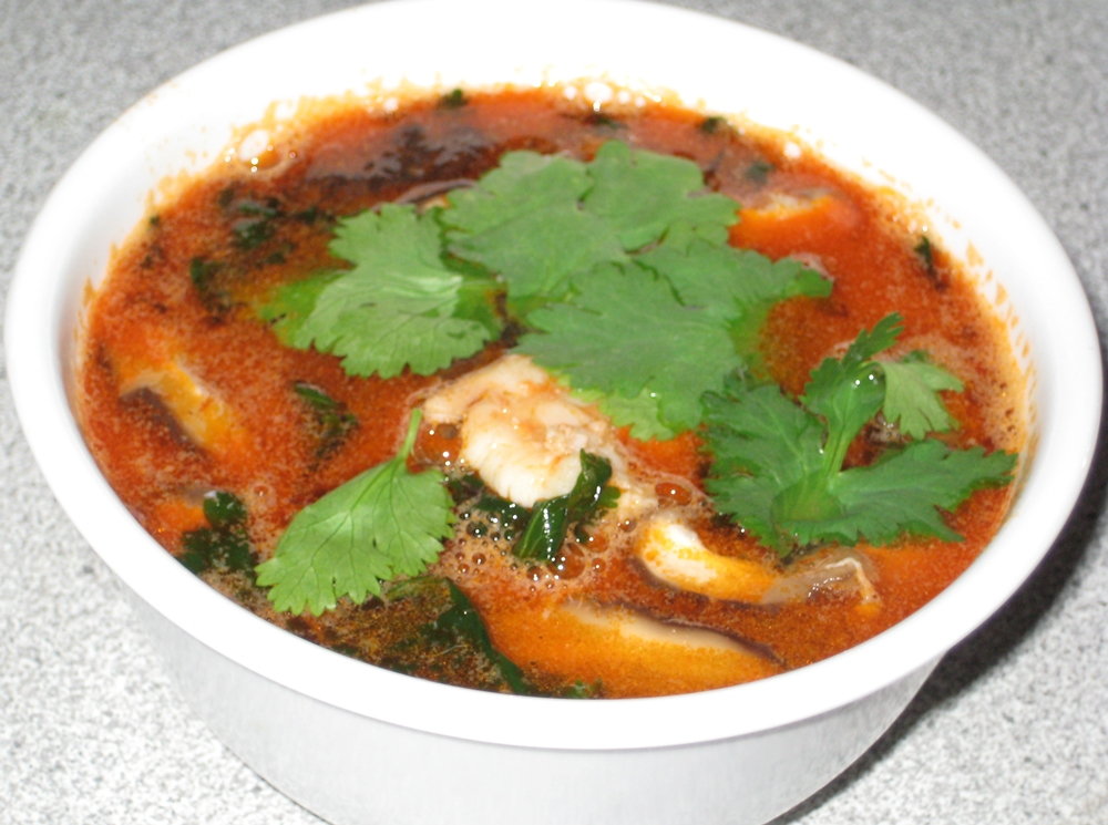 Dinner & A Movie: Tom Yum Goong - Thai Hot and Sour Soup