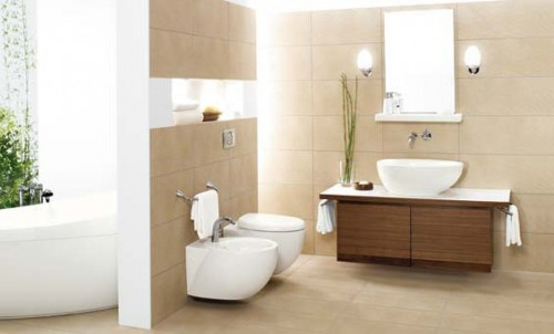 Home 39 s design natural bathroom for Bathroom designs natural