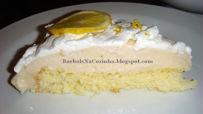 Torta Mousse de Limão co Chocolate Branco